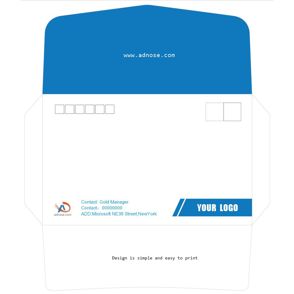 Envelope self design